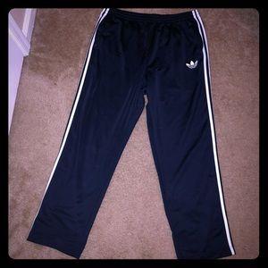 Men's Navy Blue Adidas Tracksuit Pants